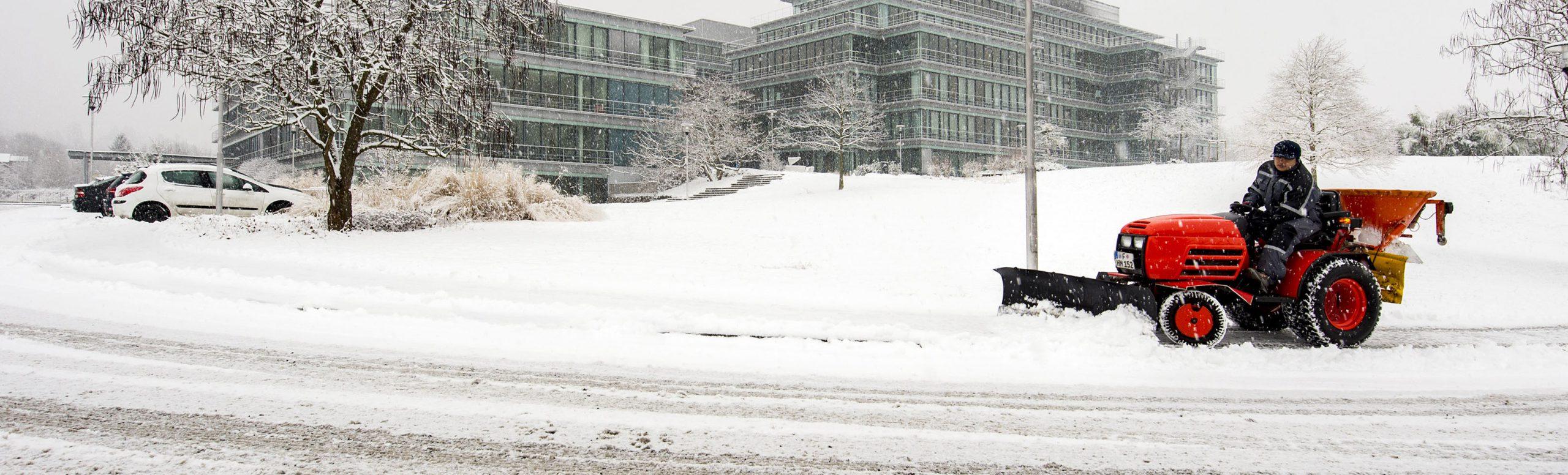 Damit der Schnee<br> Sie nicht kalt erwischt.